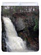 Bushkill Falls Duvet Cover