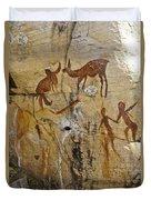 Bushman Painting Duvet Cover
