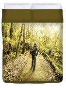 Bushwalking Tasmania Duvet Cover