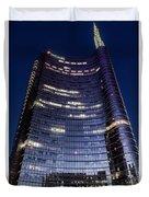 Business In Milan Duvet Cover