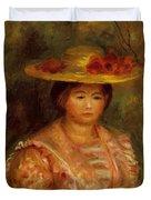 Bust Of A Woman Gabrielle Duvet Cover