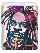Busta Rhymes Pop Art Poster Duvet Cover