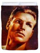 Buster Crabbe, Vintage Hollywood Legend Duvet Cover