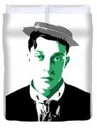 Buster Keaton Duvet Cover