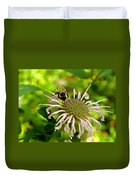 Busy As A Bee Duvet Cover by Valeria Donaldson