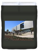 Busy Day At Tampa Museum Of Arts Duvet Cover
