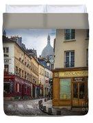 Butte De Montmartre Duvet Cover