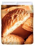 Butter Shortbread Biscuits Duvet Cover