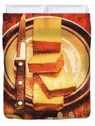 Butter Since Sliced Bread Display Duvet Cover