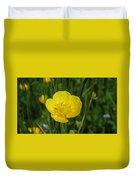 Buttercup Flower Duvet Cover