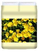 Buttercup Flowers Duvet Cover