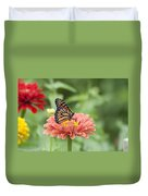 Butterflies And Blossoms Duvet Cover by Bill Cannon