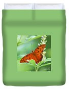 Butterflies Are Free Duvet Cover