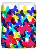 Butterflies Duvet Cover by Bee-Bee Deigner