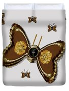 Butterflies For The Worlds  Future Duvet Cover