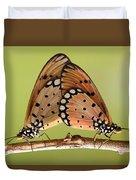 Butterflies Mating Duvet Cover