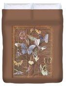 Butterflies On A Tree Duvet Cover