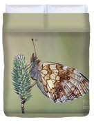Butterfly - Meadow Satyrid Duvet Cover