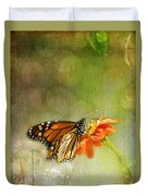 Butterfly And Bokeh Duvet Cover