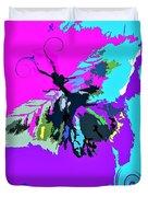 Butterfly Art By Lisa Kaiser Duvet Cover