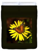 Butterfly Bloom Duvet Cover