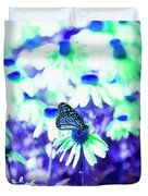 Butterfly Blues Duvet Cover