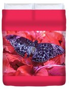 Butterfly Blues - Constable  Duvet Cover