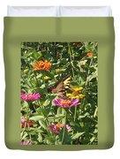 Butterfly Breakfast Duvet Cover