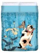 Butterfly Charmer Duvet Cover