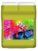 Butterfly Color Explosion Duvet Cover