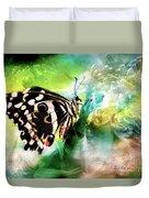 Butterfly Daydream Duvet Cover