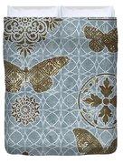 Butterfly Deco 1 Duvet Cover