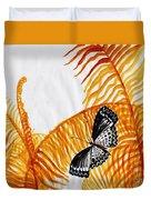 Butterfly Fern Duvet Cover