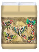 Butterfly Flash Duvet Cover