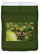 Butterfly From Another Side Duvet Cover