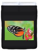 Butterfly  Golden Helicon Duvet Cover