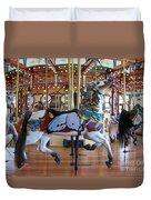 Butterfly Horse Duvet Cover