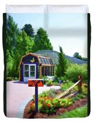 Butterfly House 1 Duvet Cover