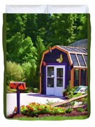 Butterfly House 2 Duvet Cover