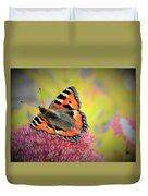 Butterfly In Bloom Duvet Cover