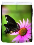 Butterfly In The Sun Duvet Cover