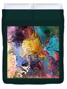 Butterfly Mind Duvet Cover