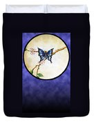 Butterfly Moon Duvet Cover