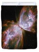 Butterfly Nebula Duvet Cover