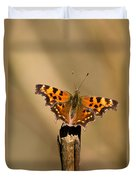 Butterfly On A Stick Duvet Cover