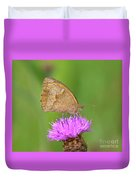 Butterfly On Knapweed Duvet Cover