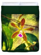 Butterfly Orchid - Encyclia Tampensis Duvet Cover