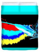 Butterfly Painting Duvet Cover