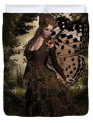 Butterfly Princess Of The Forest Duvet Cover