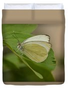 Butterfly Profile Duvet Cover
